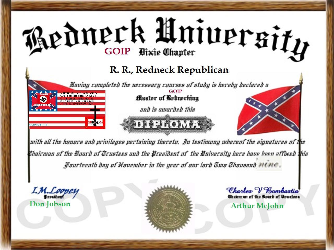Redneck Republicans