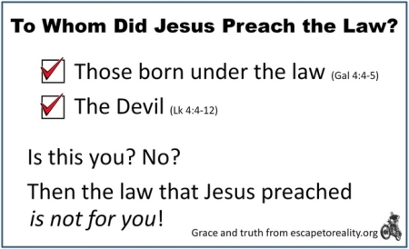 law-that-jesus-preached